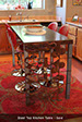 image of Steel Top Kitchen Table